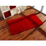 SHAGGY  KS-5 rot  - Rot, KONVENTIONELL, Kunststoff/Textil (80/150cm) - Novel