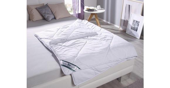 Kassettendecke Fabi - Weiß, KONVENTIONELL, Textil (140/200cm) - Primatex