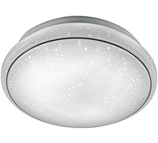 STROPNA LED SVETILKA JUPITER - bela, Design, kovina (35/35/10,5cm) - Novel