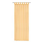 SCHLAUFENVORHANG transparent  - Orange, Basics, Textil (140/245cm) - Boxxx