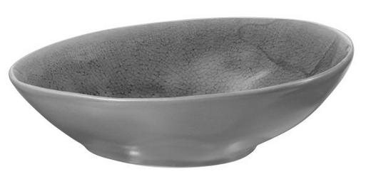 OLIVENSCHALE Keramik Feinsteinzeug - Grau, Design, Keramik (15,8/12,3/4,6cm) - ASA