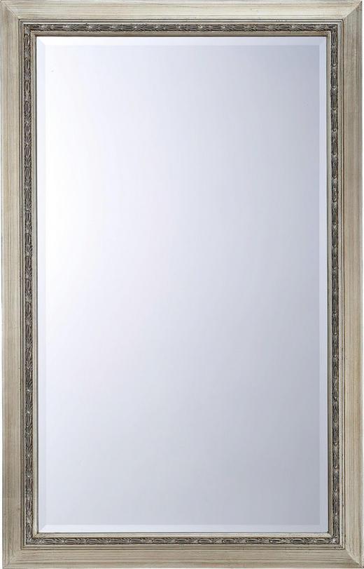 SPIEGEL Silberfarben - Silberfarben, LIFESTYLE, Glas/Holzwerkstoff (70/110/3,20cm) - Landscape