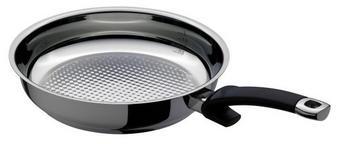 PÁNEV - barvy stříbra, Basics, kov (24cm) - Fissler