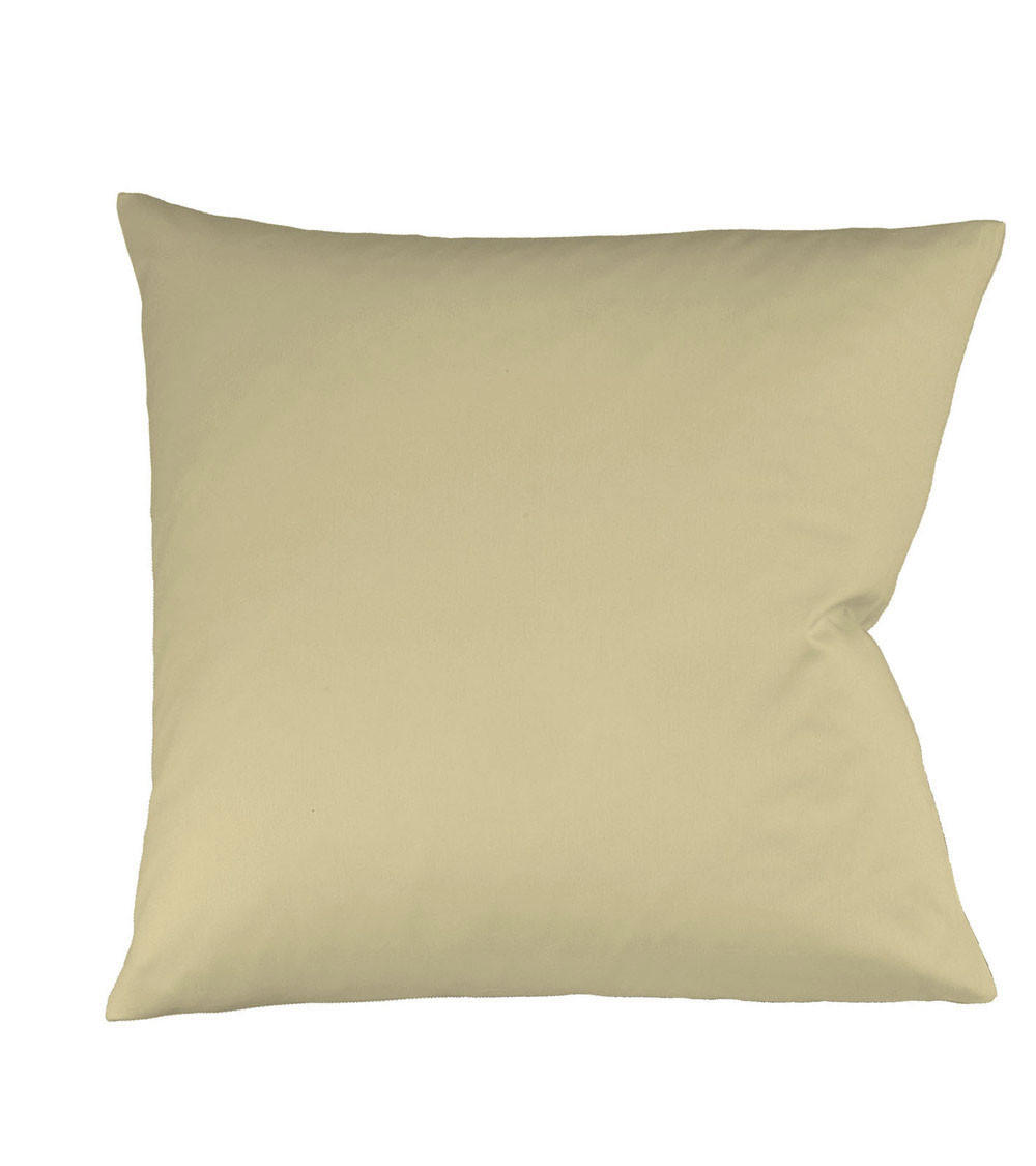 KISSENHÜLLE Beige 40/40 cm - Beige, Basics, Textil (40/40cm) - FLEURESSE