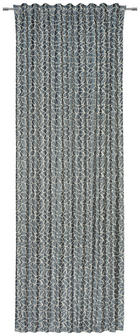 KOMBIVORHANG blickdicht - Beige/Petrol, Design, Textil (140/300cm) - Esposa