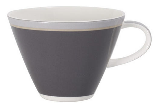 CAPPUCCINOTASSE - Weiß/Grau, Basics, Keramik (0,39l) - Villeroy & Boch