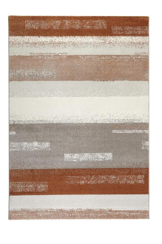 WEBTEPPICH  80/150 cm  Orange, Taupe, Weiß - Taupe/Orange, Basics, Textil (80/150cm) - Esprit