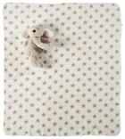 SCHMUSEDECKE - Taupe/Weiß, Basics, Textil (90/75cm) - MY BABY LOU