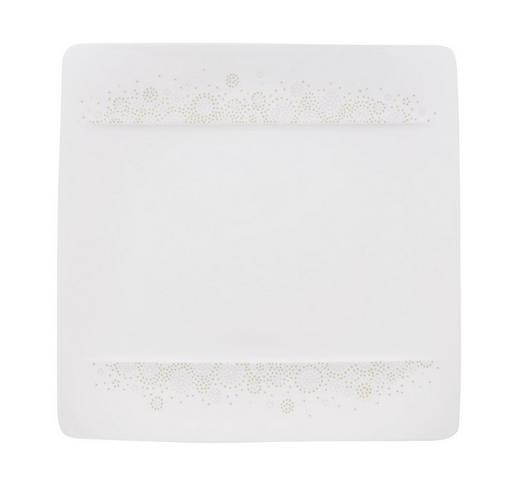 FRÜHSTÜCKSTELLER Keramik Porzellan - Weiß/Grau, Design, Keramik (23/23cm) - Villeroy & Boch