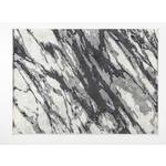 Webteppich Marmor Sissy 60x110 cm - Creme/Hellgrau, Basics, Textil (60/110cm) - Ombra