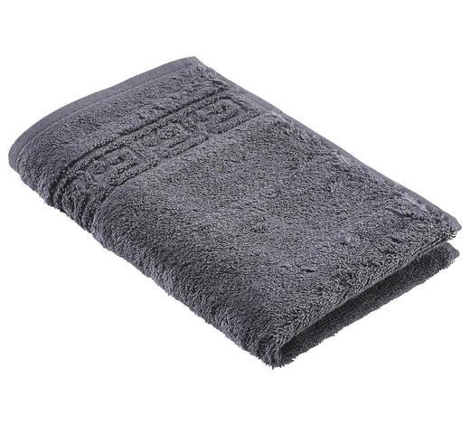 GÄSTETUCH 30/50 cm  - Anthrazit, Basics, Textil (30/50cm) - Cawoe