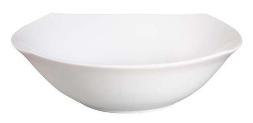 SALATSCHÜSSEL Porzellan - Weiß, Basics (23,5cm) - BOXXX