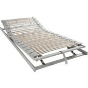 LATTENROST 80/200 cm , - Weiß, Basics, Holz (80/200cm) - Sembella