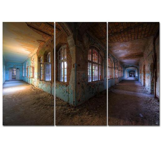 """Architektur BILD """"LOVE AT FIRST SIGHT""""  - Multicolor, Design, Holzwerkstoff/Kunststoff (300/200cm) - Wiedemann"""