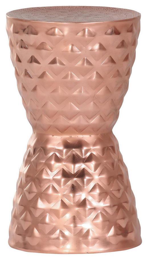 BEISTELLTISCH Kupferfarben - Kupferfarben, Design, Metall (29/51cm) - Carryhome