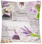 ZIERKISSEN 40/40 cm - Violett/Grau, Design, Textil (40/40cm)