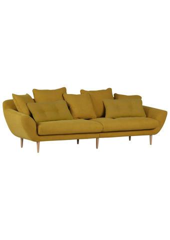 TROSJED - prirodne boje/žuta, Design, tekstil/drvo (270/80/110cm) - Hom`in
