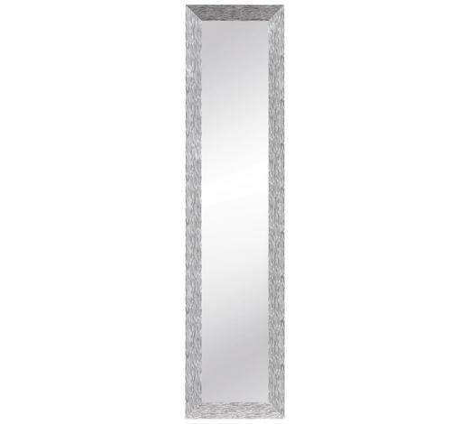 SPIEGEL - Silberfarben, Design, Glas/Holzwerkstoff (125/30cm) - Carryhome