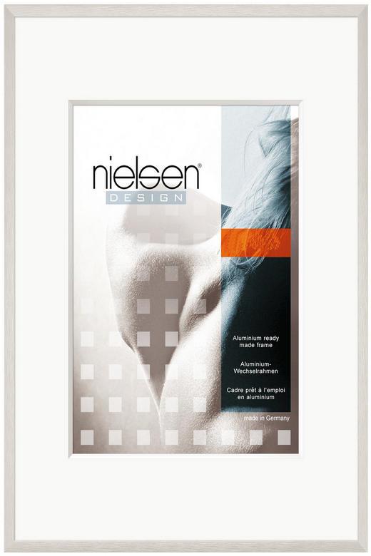 BILDERRAHMEN in Silberfarben - Silberfarben, Basics, Metall (50/70cm) - Nielsen