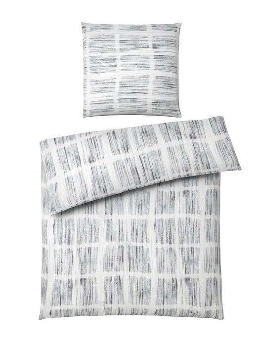 BETTWÄSCHE Makosatin Grau 135/200 cm - Grau, Basics, Textil (135/200cm) - Novel