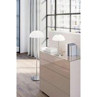 STEHLEUCHTE - Chromfarben/Opal, LIFESTYLE, Glas/Metall (45/45/145cm) - Joop!