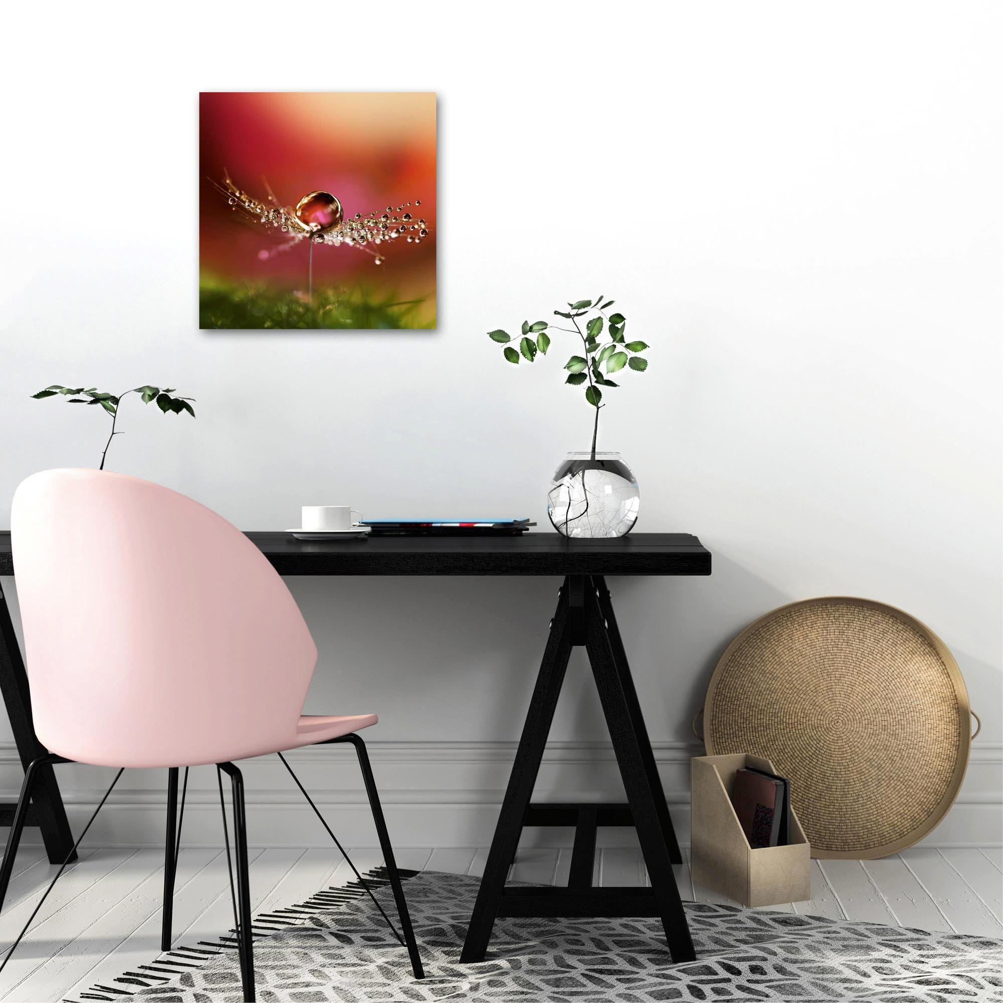 GLASBILD - Multicolor, Basics, Glas (30/30cm)