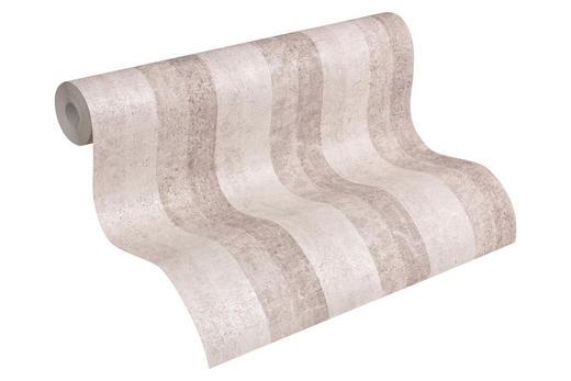 VLIESTAPETE 10,05 m - Beige/Braun, LIFESTYLE, Textil (53/1005cm)