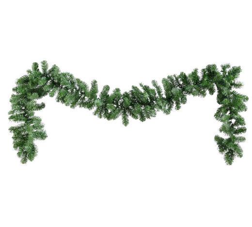 GIRLANDA,  - zelená, Basics, umělá hmota (25/270cm)