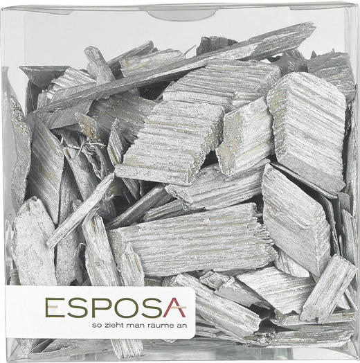STRÖDEKORATION - vit, Basics, träbaserade material (0,6l) - AMBIA HOME