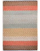 ROČNO TKANA PREPROGA STRIPE - naravna/svetlo modra, Basics, tekstil (65/135cm) - Tom Tailor