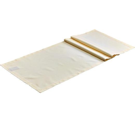 TISCHLÄUFER Textil Creme 50/160 cm  - Creme, Basics, Textil (50/160cm) - Curt Bauer