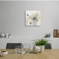 Ölgemälde - Braun/Weiß, LIFESTYLE, Holz/Kunststoff (55/55cm) - Monee