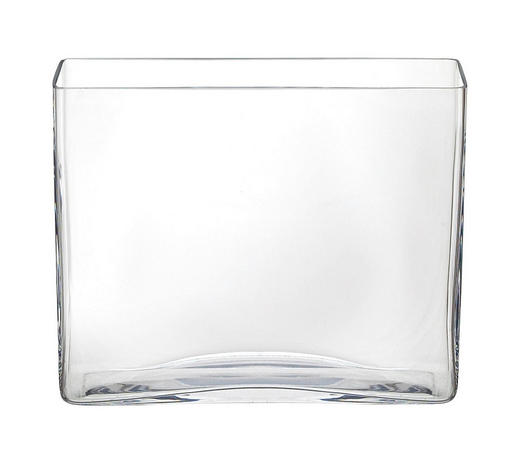 VAS - klar, Basics, glas (24,5/20/7cm) - Ambia Home