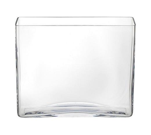 VASE 20 - Klar, Basics, Glas (24,5/20/7cm) - Ambia Home