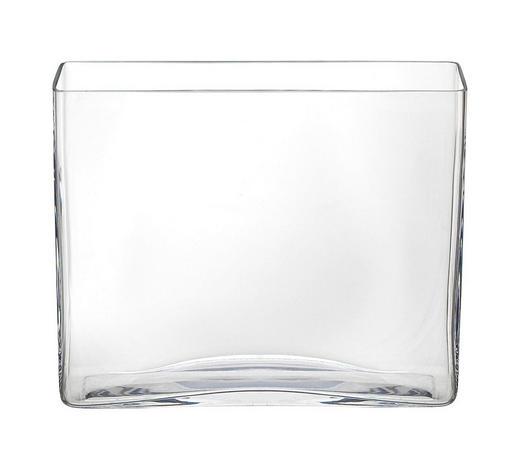 VASE 20 cm - Klar, Basics, Glas (24,5/20/7cm) - Ambia Home