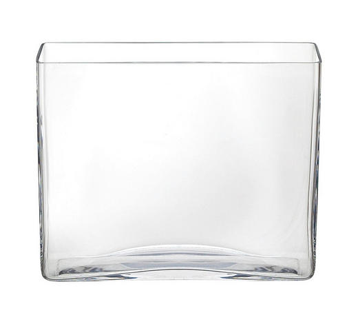 VÁZA, čiré - čiré, Basics, sklo (24,5/20/7cm) - Ambia Home