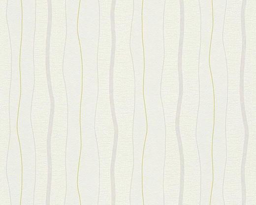 VLIESTAPETE 10,05 m - Weiß/Grau, Design, Textil (53/1005cm)