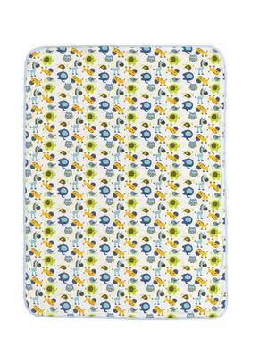 MYSFILT - vit/blå, Basics, textil (75/100cm) - My Baby Lou