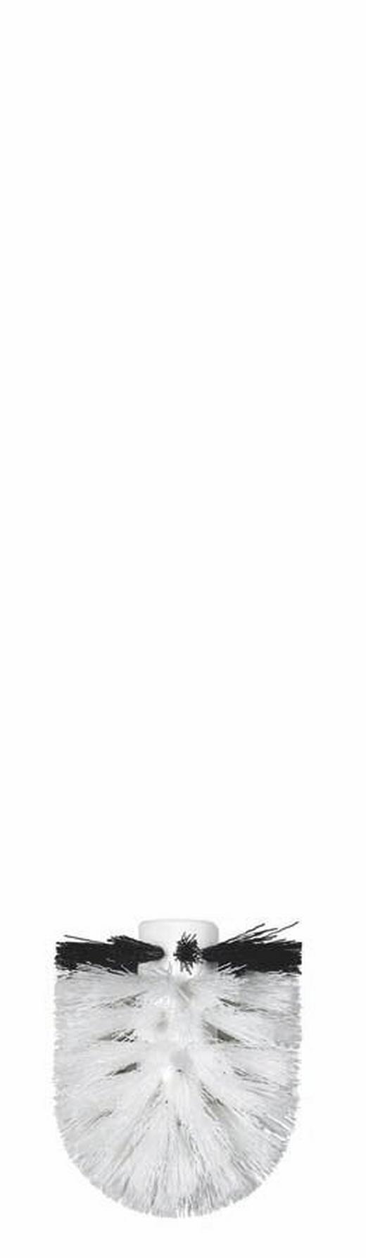 ERSATZBÜRSTENKOPF - Schwarz/Weiß, Basics, Kunststoff (8cm) - SPIRELLA