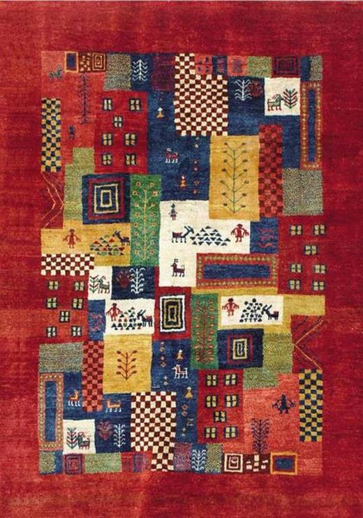 ORIENTTEPPICH, 80 300  cm - Rot, LIFESTYLE, Textil (80 300 cm) - Esposa