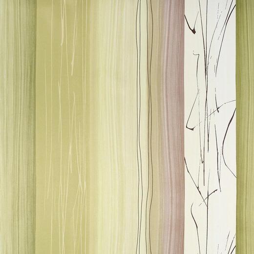 DEKOSTOFF per lfm Verdunkelung - Beige/Hellgrün, KONVENTIONELL, Textil (145cm) - Esposa