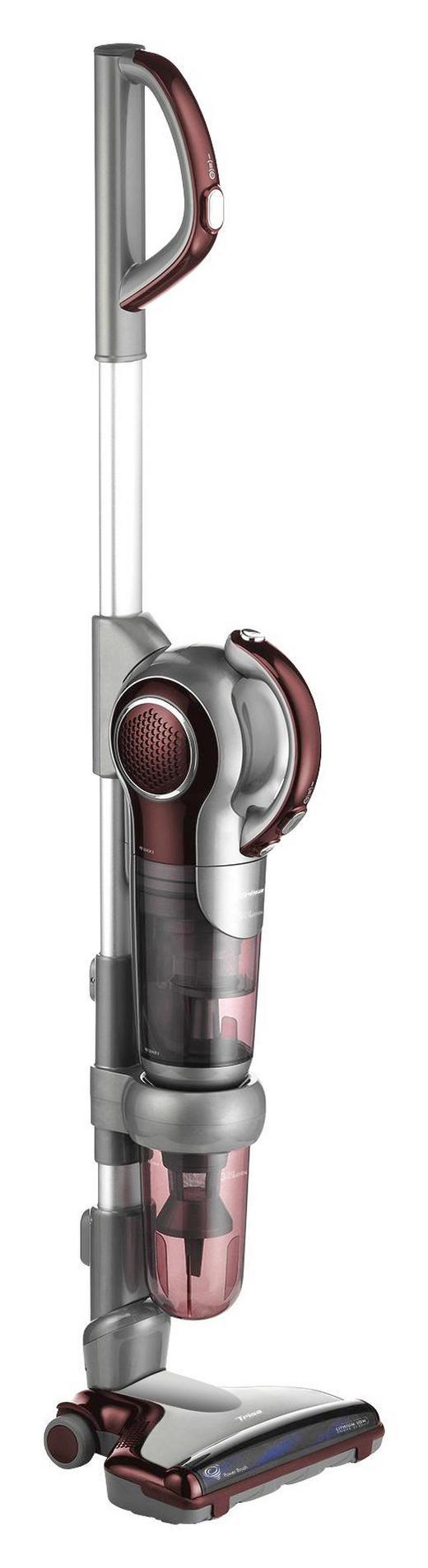 AKKU-BODENSTAUBSAUGER  Quick Clean Professional T7883 - Rot/Grau, KONVENTIONELL, Kunststoff (110/27/21cm)