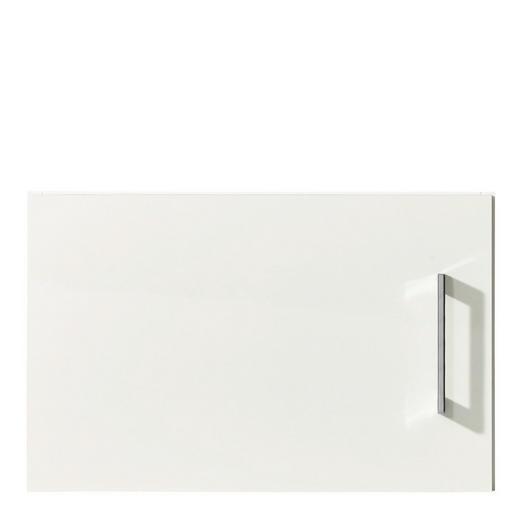 AUFSATZSCHRANK 50/32/57 cm Weiß - Chromfarben/Weiß, Design, Metall (50/32/57cm) - Carryhome