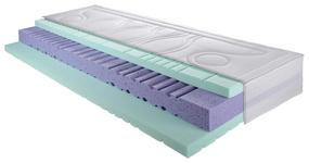 MATRATZE MEDI Q AIR CORE-FI 90/200 cm - Weiß, Basics, Textil (90/200cm) - DIETER KNOLL