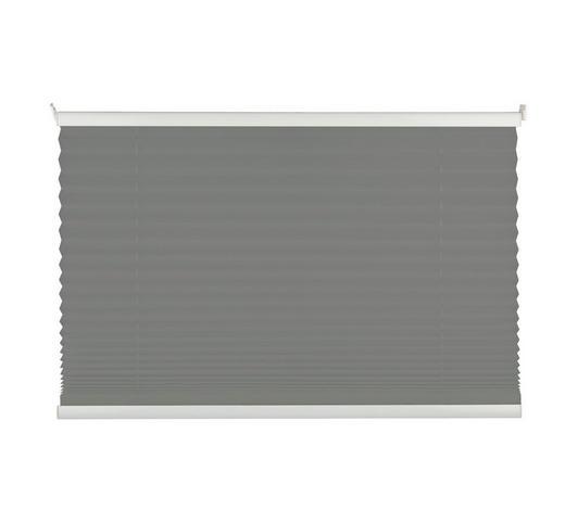 PLISSEE 80/210 cm - Hellgrau, Design, Textil (80/210cm) - Homeware