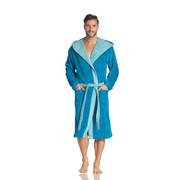 BADEMANTEL Poppy  gr XS - Blau, Basics, Textil (XS) - Vossen