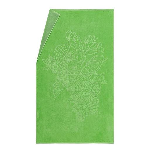 STRANDTUCH 100/175 cm - Grün, Design, Textil (100/175cm) - Esposa