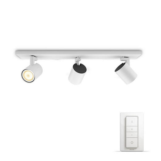 STRAHLER HUE WHITE AMBIANCE - Weiß, KONVENTIONELL, Metall (9/10,9/48cm) - Philips