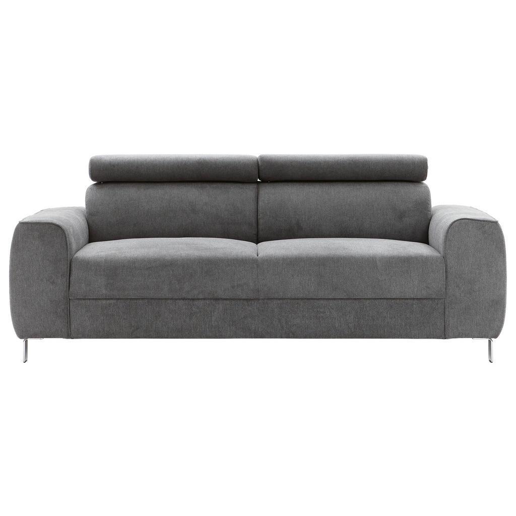 Ti`me Dreisitzer-sofa struktur graphitfarben
