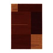 WEBTEPPICH - Rostfarben/Rot, KONVENTIONELL, Textil (67/130cm) - Schöner Wohnen